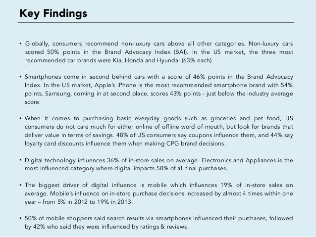Online vs Offline Word of Mouth - What drives consumer purchase decisions? Slide 3