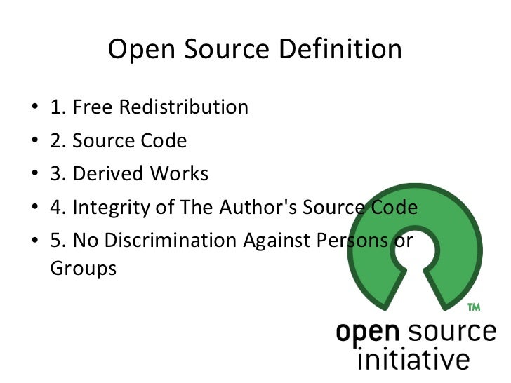 the open source definition pdf