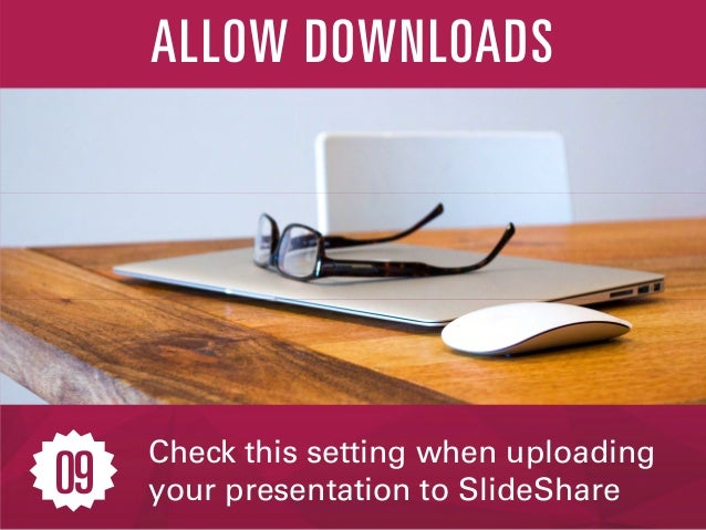 Integrate with LinkedIn, and share presentations across social channels SHARE ON SOCIAL 10