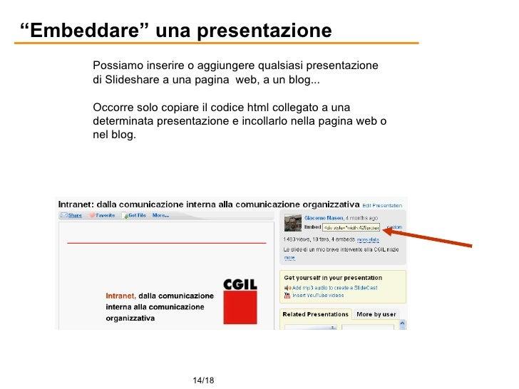 presentazione slideshare