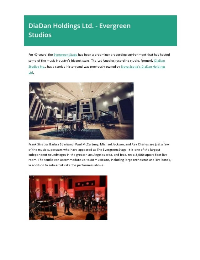For 40 years, the Evergreen Stage has been a preeminent recording environment that has hosted some of the music industr...