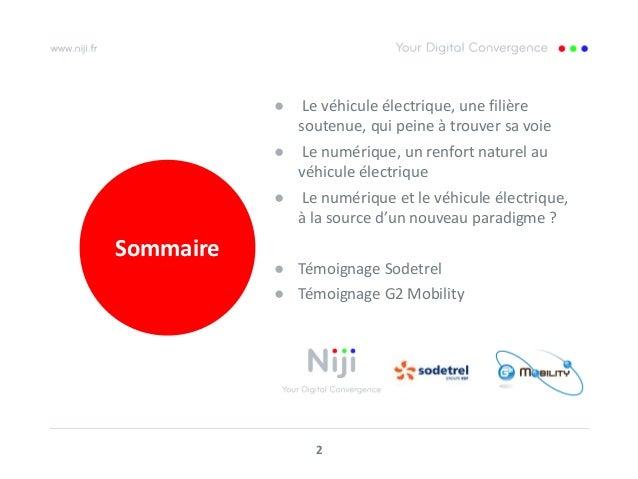 Vehicule électriques et numérique : une collaboration attendue Slide 2
