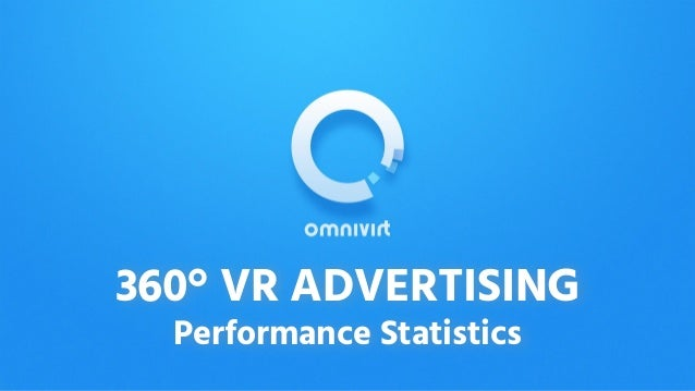 360° VR ADVERTISING Performance Statistics
