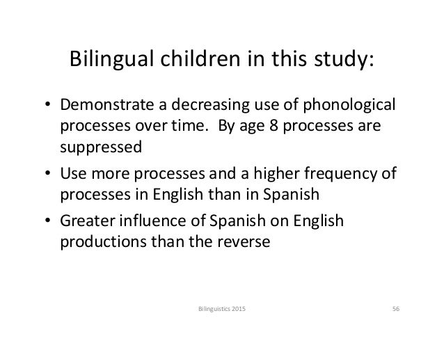 phonological development in children essay Learning to pronounce: the earliest stages of phonological development in the child papers and reports on child language development, no 11.