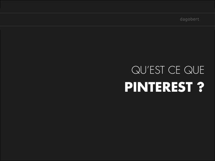 Pinterest - Enjeux et intérêts pour les marques Slide 2