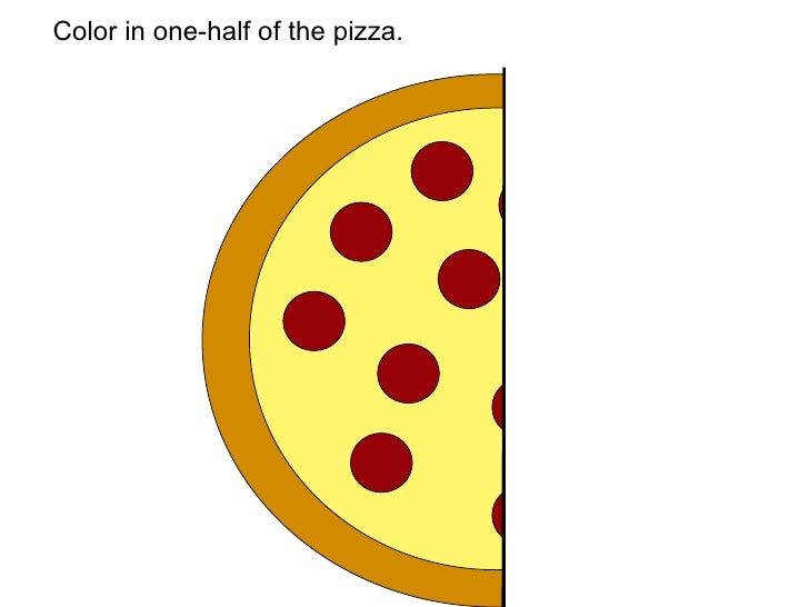 Pizza Fraction Math – Pizza Fractions Worksheet