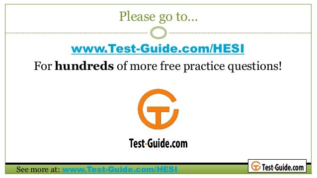HESI Exam Guide