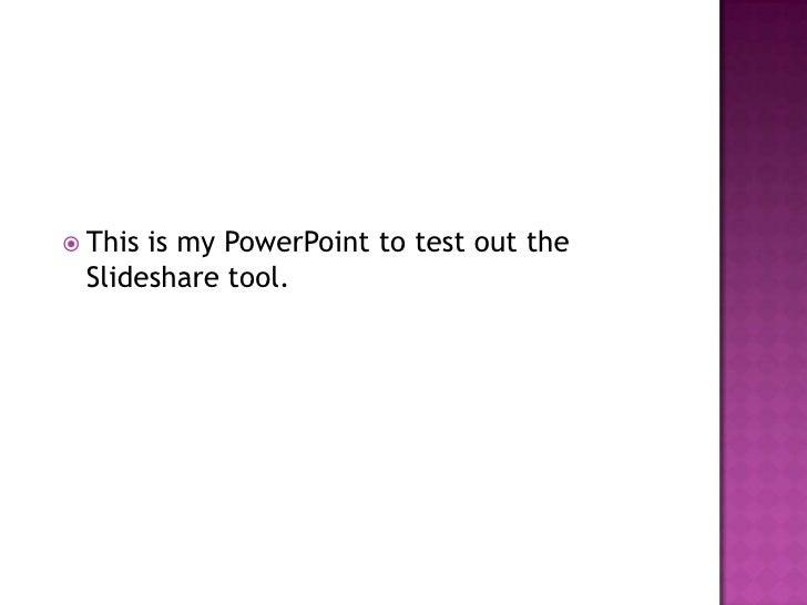slide share ppt