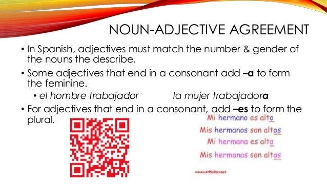 Spanish I 1st Semester Review