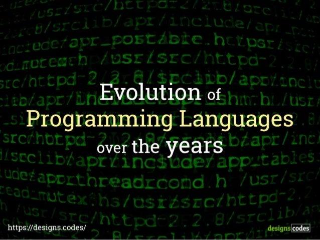 pt 2520 exploring programming languages Computer programming languages allow us to give instructions to a computer in  a language the computer understands just as many human-based languages.