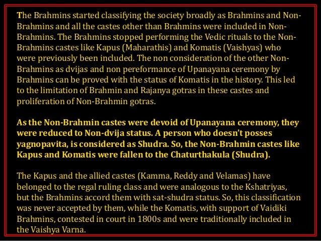 Telugu Brahmin Surnames