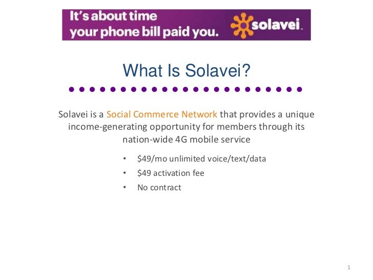 What Is Solavei?Solavei is a Social Commerce Network that provides a unique  income-generating opportunity for members thr...