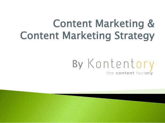 Content Marketing & Content Marketing Strategy By