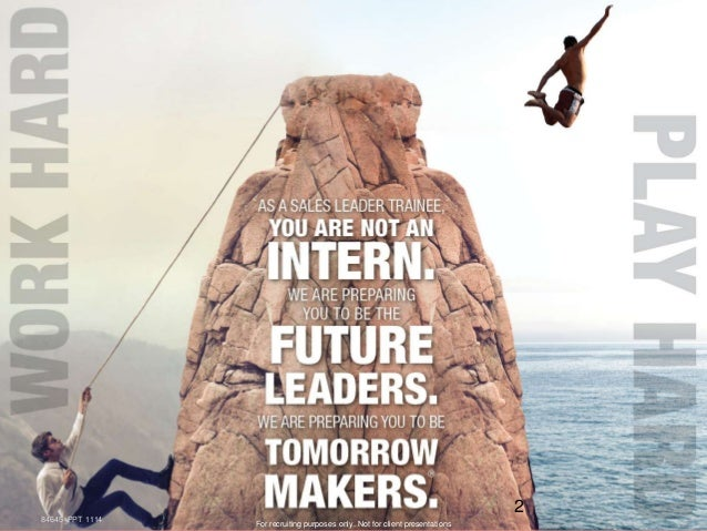 Recruiting  future Insurance Professionals and Managers! A Different Type of Career! Slide 2