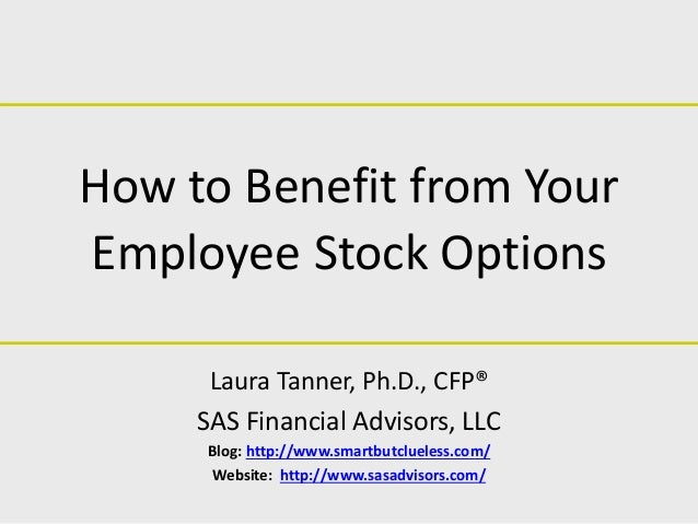 Stock options financial advisor