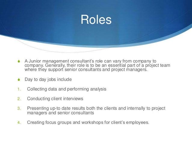 management consultant skills