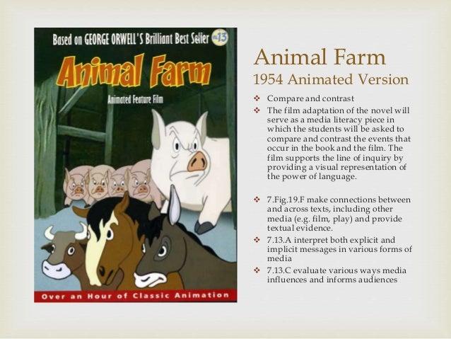 power in animal farm