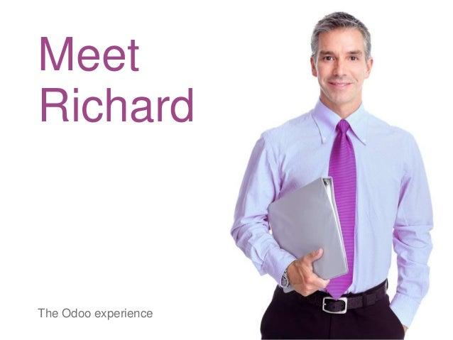 Meet Richard The Odoo experience