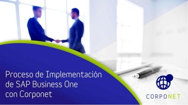 La implementación de SAP Business One, es un paso importante en tu negocio en miras de mejorar la productividad, eficienci...