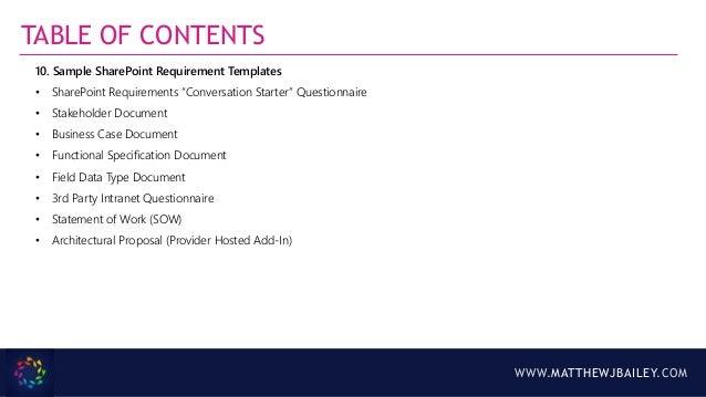 Intranet business case kit sp marketplace.