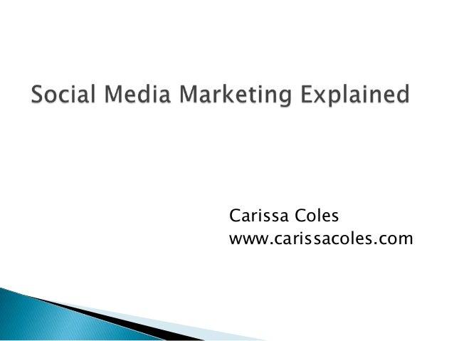 Carissa Coleswww.carissacoles.com