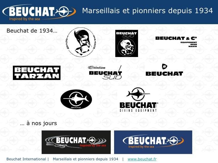 Marseillais et pionniers depuis 1934Beuchat de 1934…       … à nos joursBeuchat International |   Marseillais et pionniers...