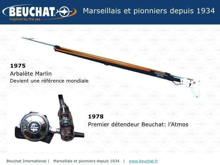 Marseillais et pionniers depuis 1934 1975 Arbalète Marlin Devient une référence mondiale                                  ...