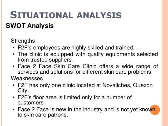 skin care sample business plan