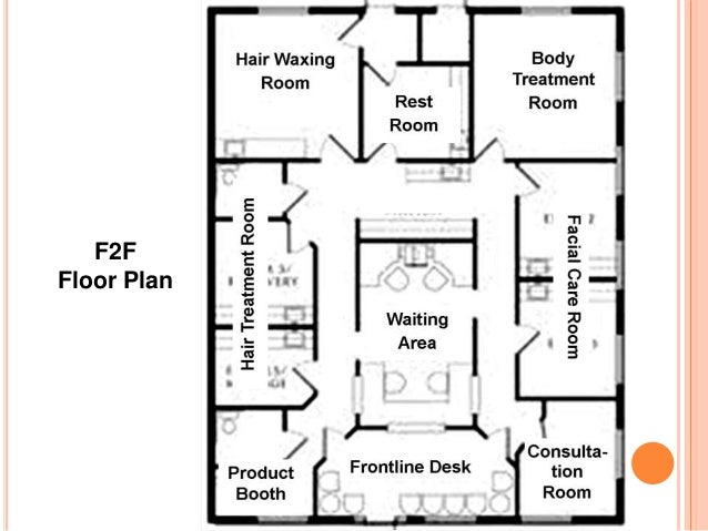 Marketing plan facial care clinic for Small daycare floor plans