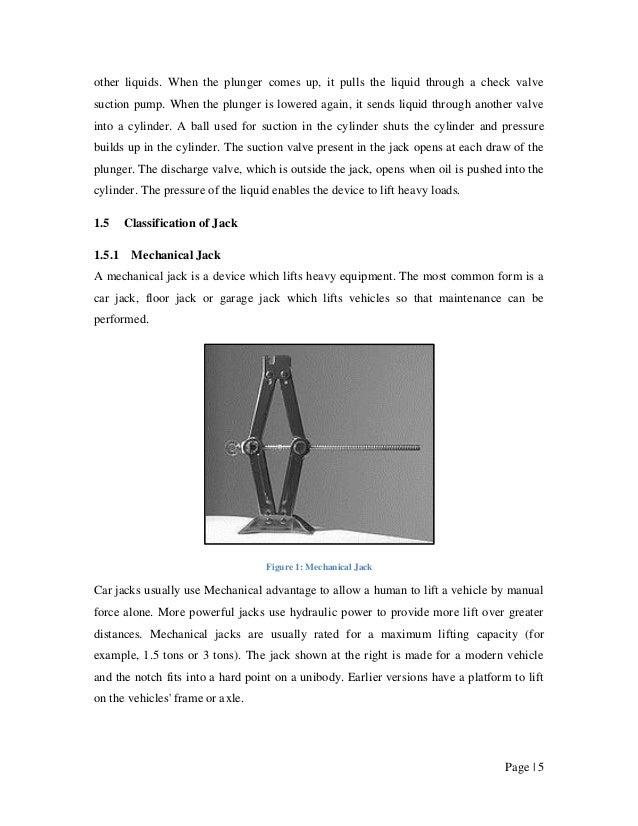Solar Powered Automatic Hydraulic Jack System