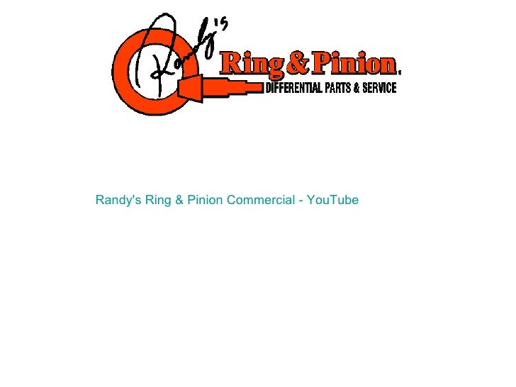 randys ring pinion