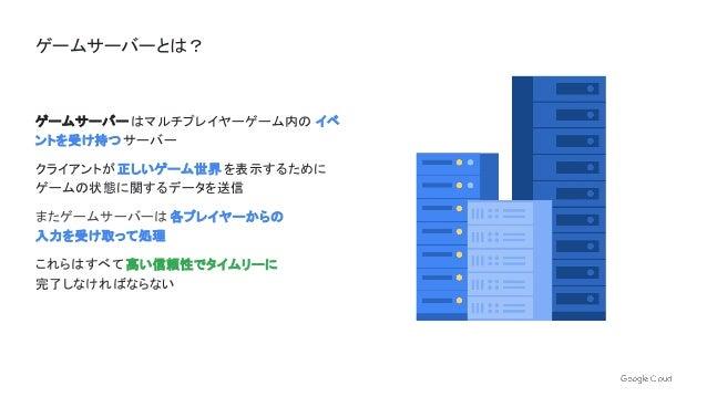 Google Cloud Game Servers 徹底入門 | 第 10 回 Google Cloud INSIDE Games & Apps Online Slide 3