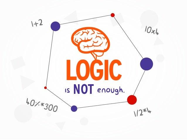 is NOT enough. LOGIC 1+2 10x4 1/2*4 40%*300