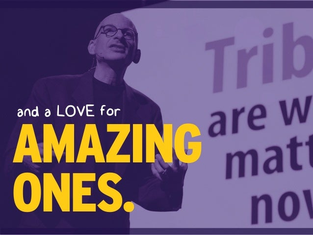 and a LOVE for AMAZING ONES.