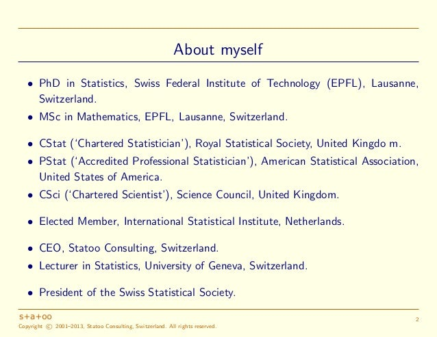 A Statistician's View on Big Data and Data Science (Version 1) Slide 3