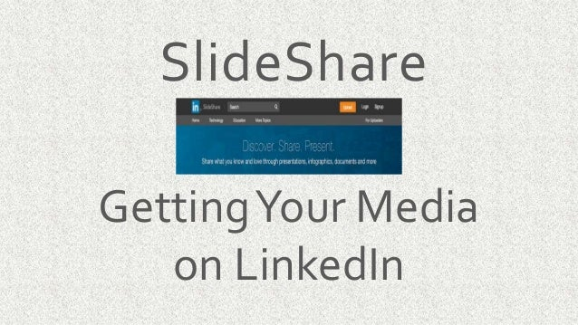 what should go onto your slideshare presentation
