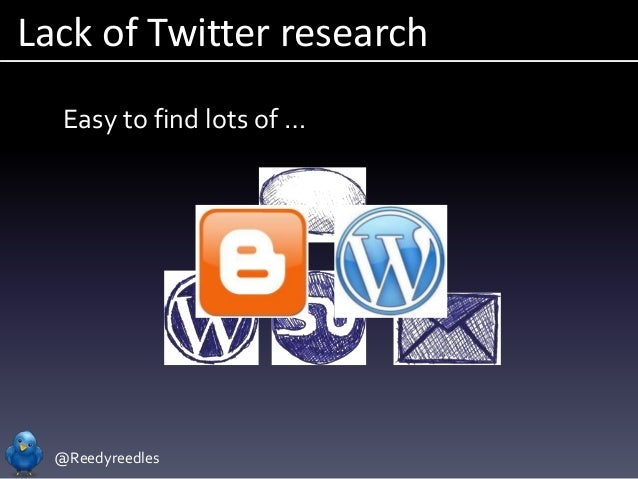 @Reedyreedles Lack of Twitter research Easy to find lots of …