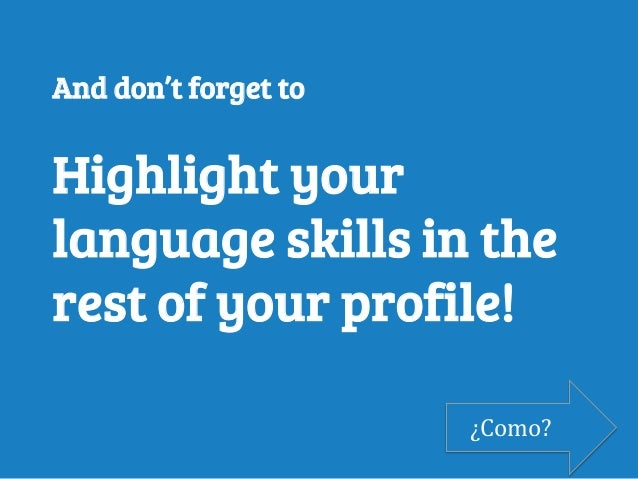 how to add languages linkedin