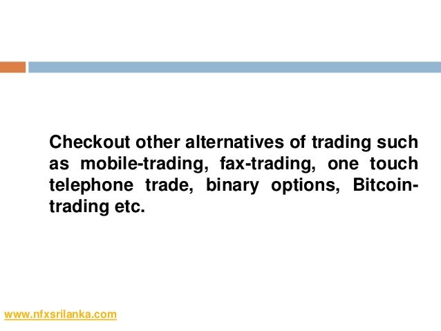 Goptions why binary index futures review