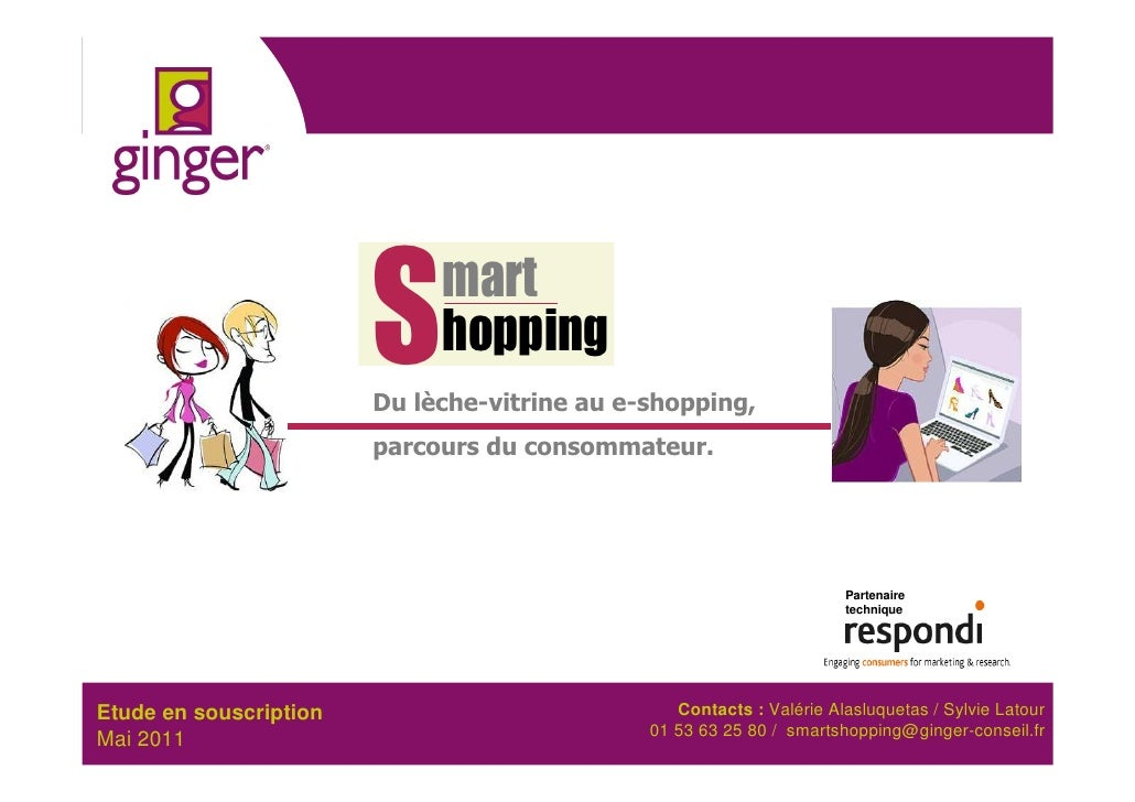 S    mart                             hopping                        Du lèche-vitrine au e-shopping,                      ...