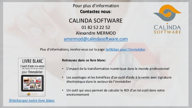 d8275e52b96c37 Outil d aide à la vente avec signature électronique pour l Immobilier