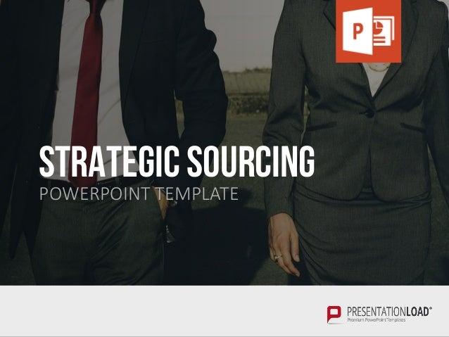 Strategic Sourcing PPT Slide Template Slide 2