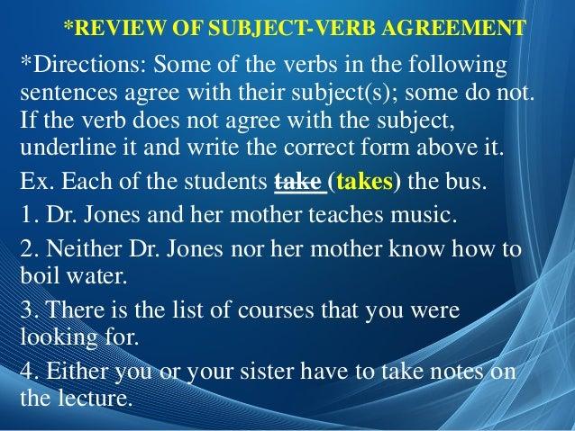 Slideshare subbject verb agreemet 23 platinumwayz