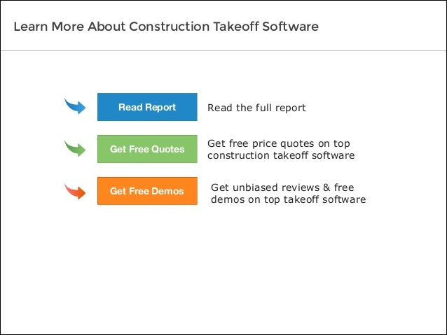 Read the full report Get free price quotes on top construction takeoff software Get unbiased reviews & free demos on top t...