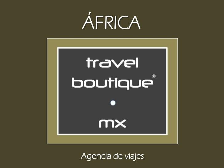 ÁFRICAAgencia de viajes
