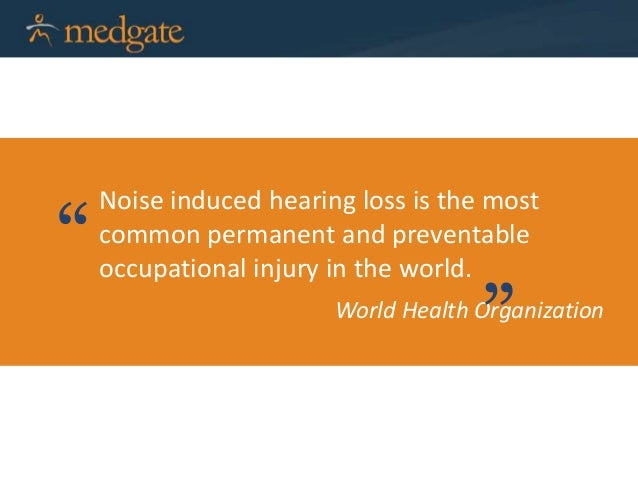 Protecting workers from Noise Induced Hearing Loss - webinar Jan 28, …