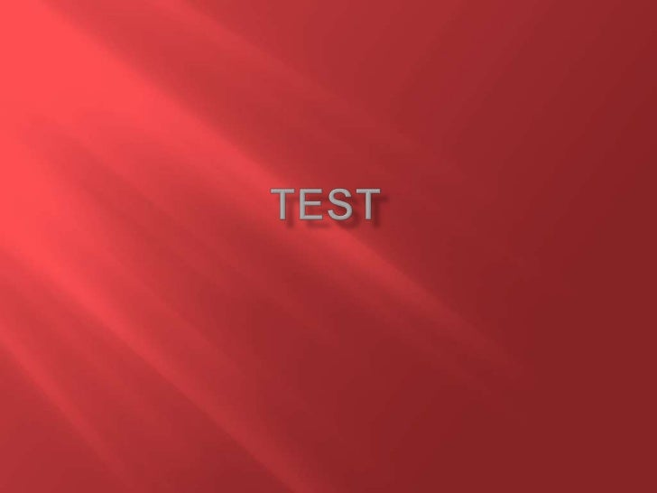 Test<br />