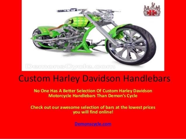 Demon's Cycle Custom Harley Davidson Motorcycle Handlebars