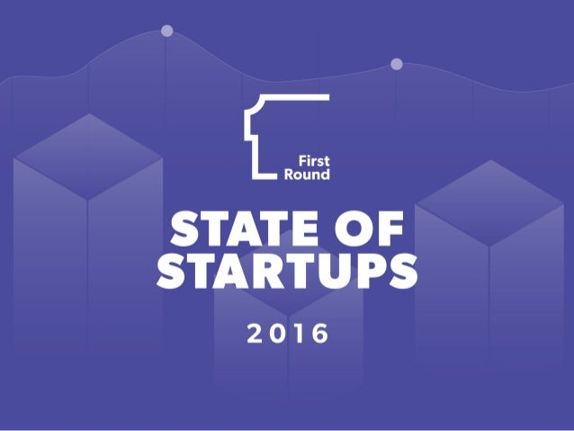 State of Startups 2016
