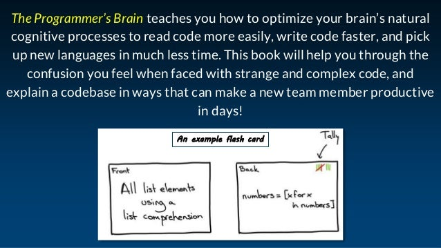 The Programmer's Brain: improve the way you learn and think about code Slide 3